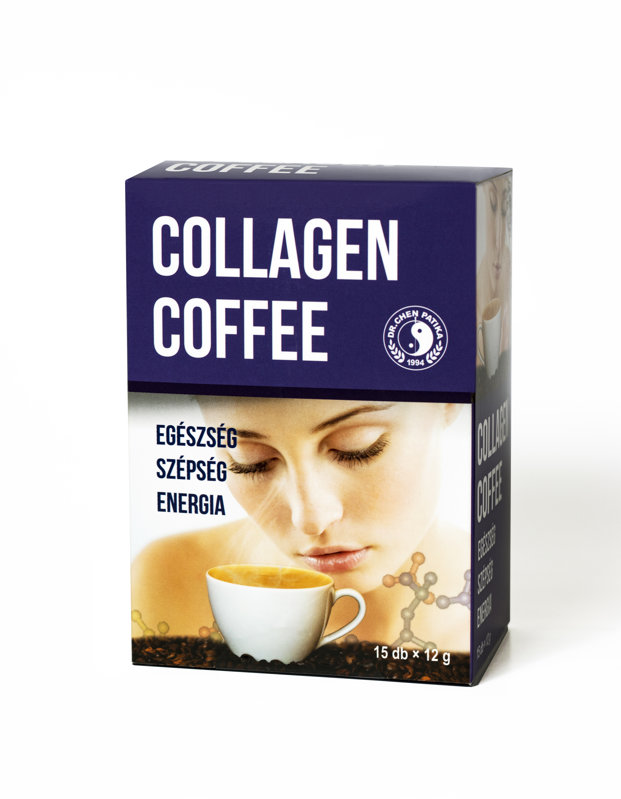 Instant coffee with collagen 180 g (15 g x 12)
