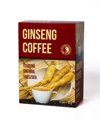 Instant coffee with ginseng root 180 g (15g x 12)