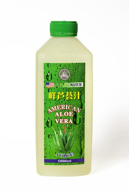 100% dabīgā alvejas sula  1l