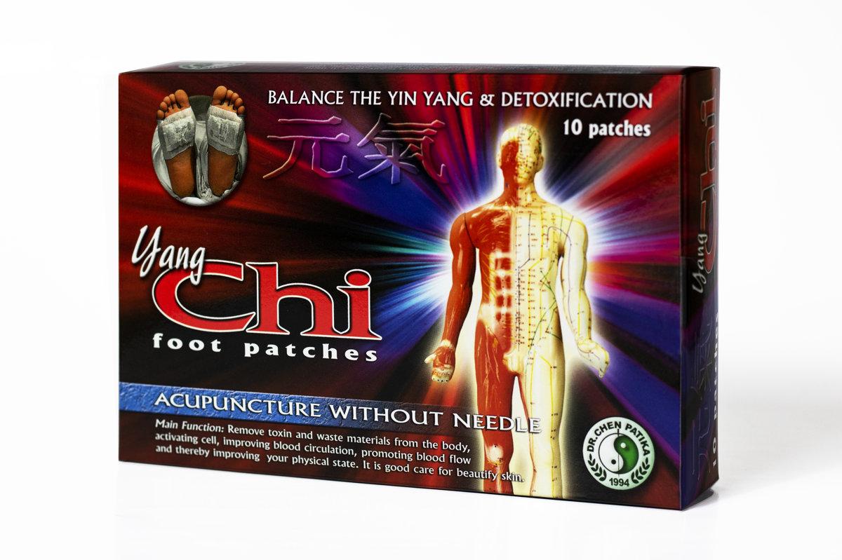Akupunktūras plāksteris Yang CHI (Jan Či) (detoxic)