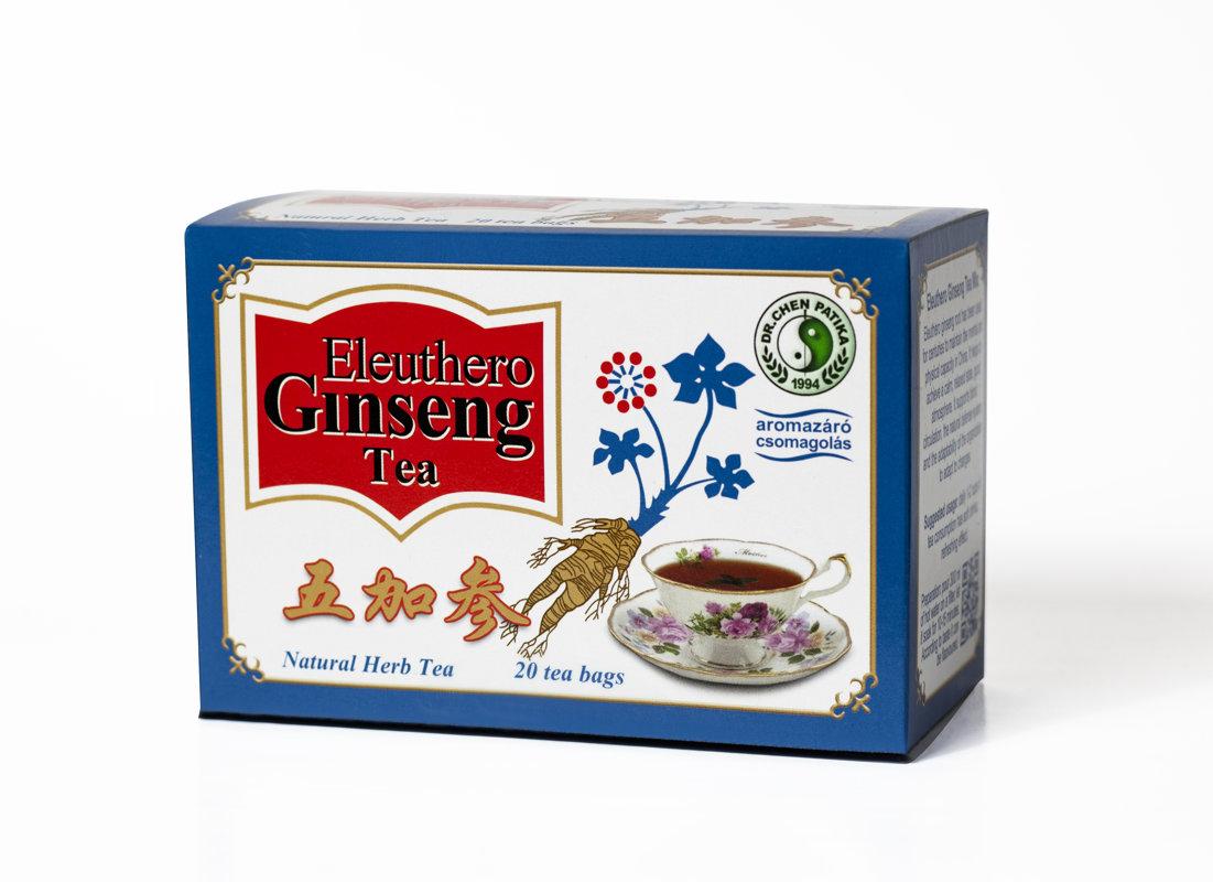 Eleiterkoka un žeņšeņa tēja 46 g (2.3 mg x 20)