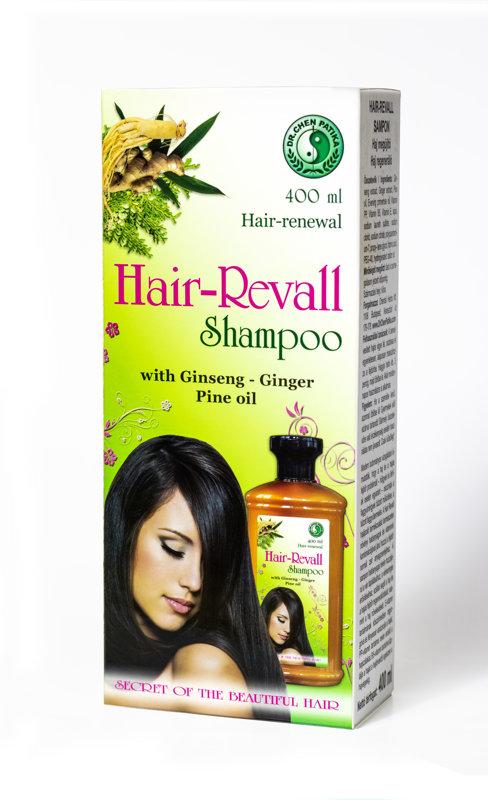 Hair Revall matu šampūns ar žeņšeņa ekstraktu 400 ml