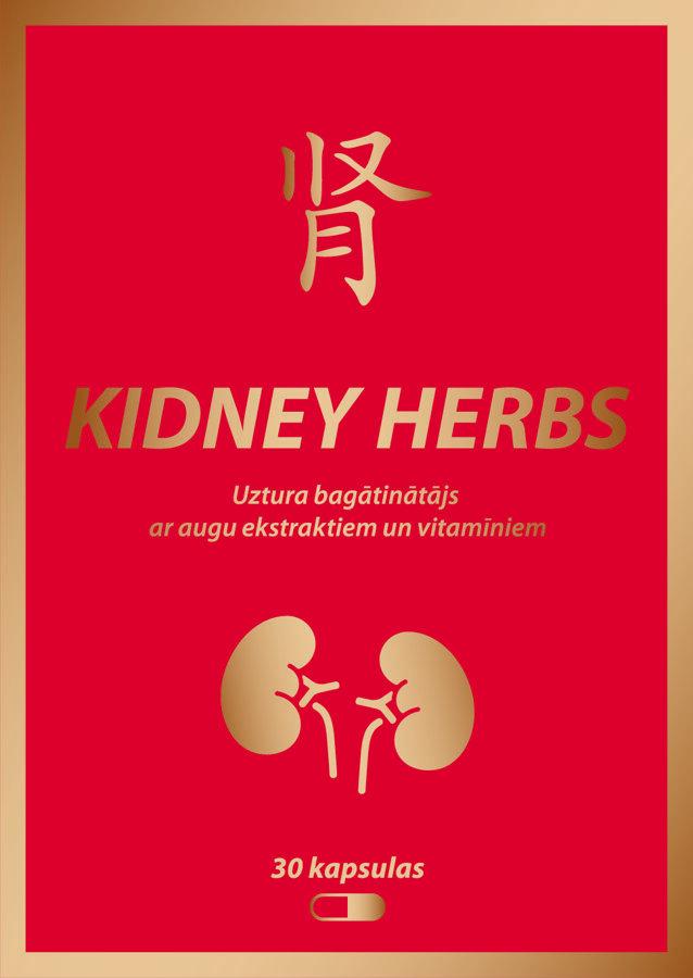 Kidney Herbs 30 kapsulas