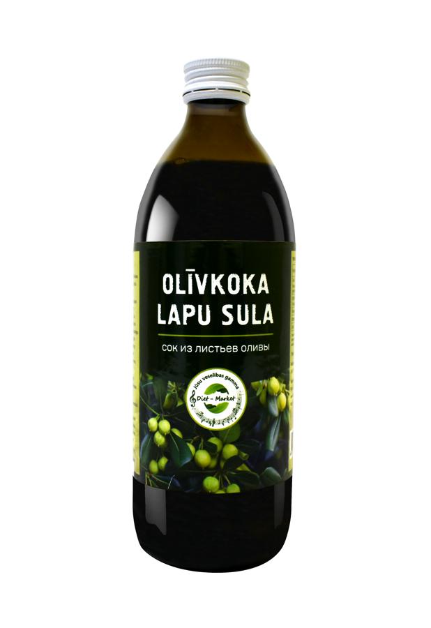 Olīvkoka lapu sula 500ml