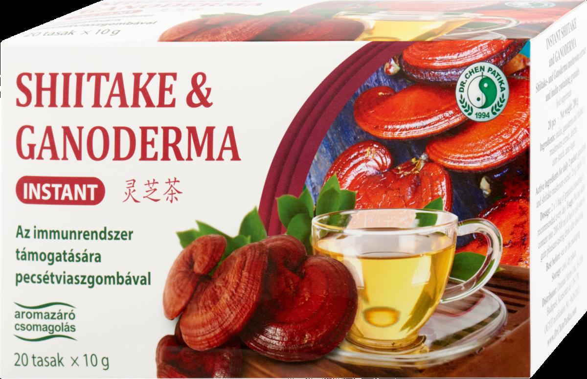 Šitaki un ganodermas (Reishi) sēnes tēja.  200g (10g x 20)