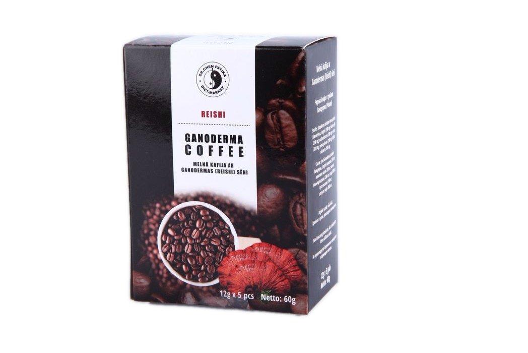 Ganoderma (Žeiši) Kafijas ekstrakts 60g (12g x 5)
