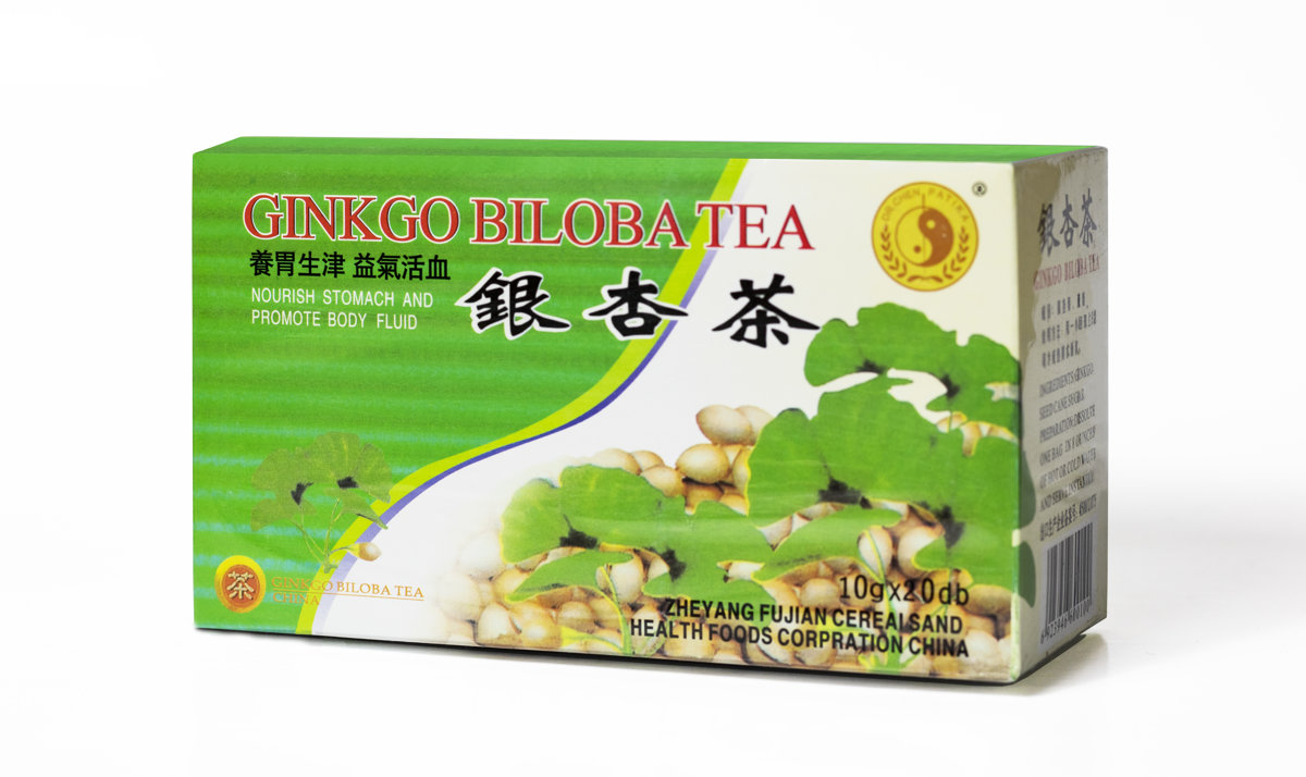 Растворимый чай Гингко Билоба 200 г (10 г x 20)
