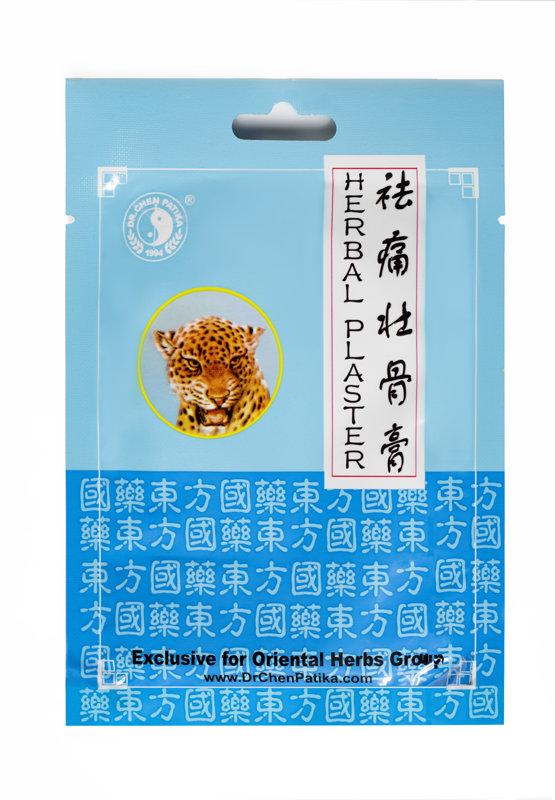"""Пластырь """"Tiger''  c экстрактами китайских растений"""