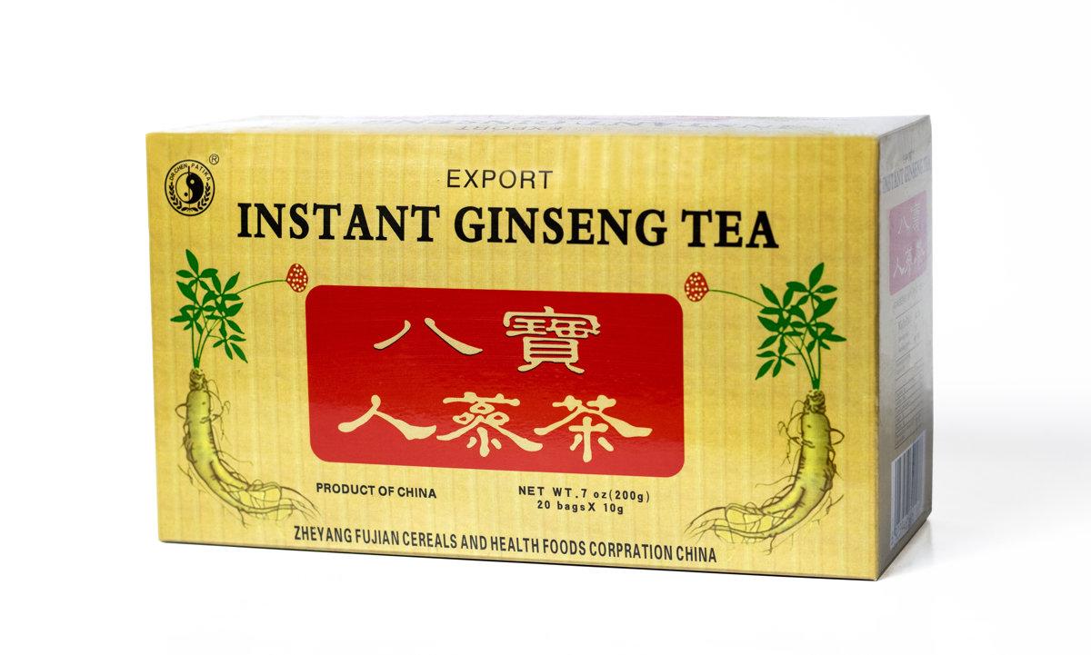 Žeņšeņa saknes tēja  200g (10g x20)