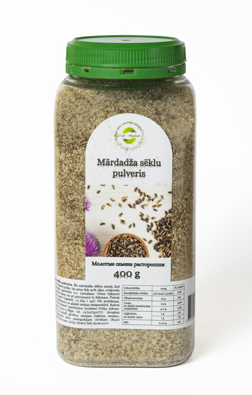 Organic milk thistle seed powder 400 g