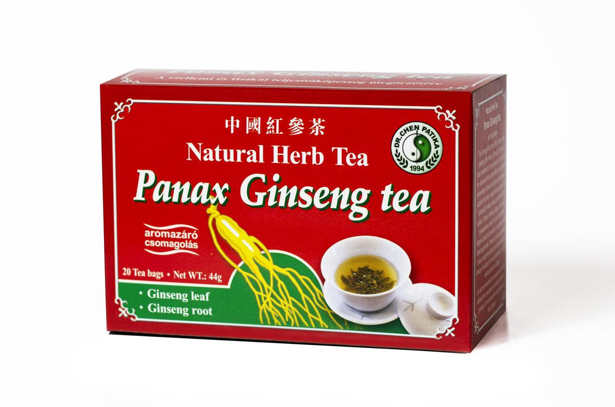 """Tēja """"Panax Ginseng'' (sarkanā žeņšeņa)   44g (2.2g x 20)"""