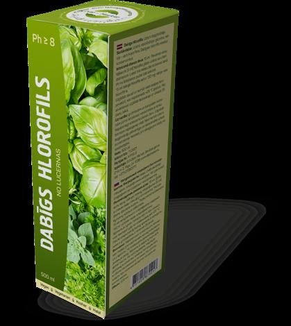 Dabīgs Hlorofils 500 ml