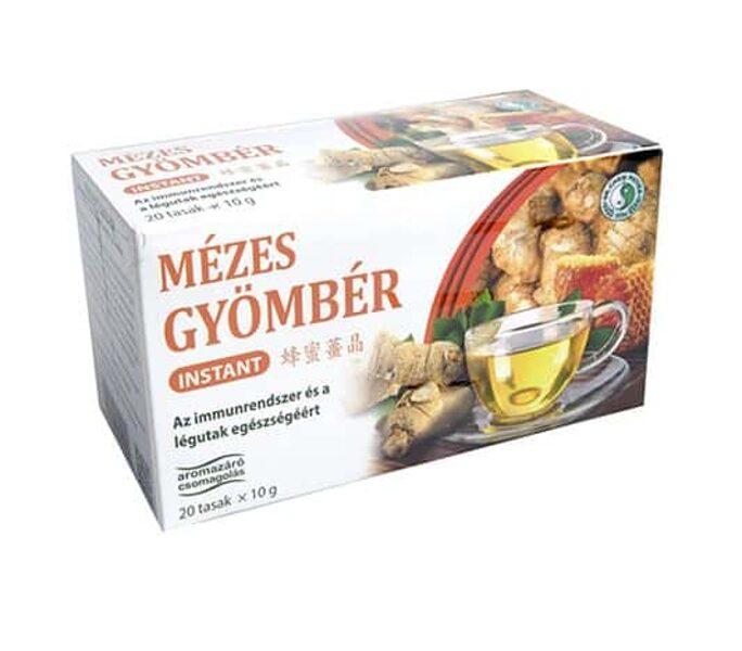 Имбирный чай с медом 200 г (10г x 20)